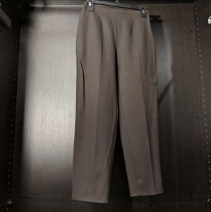 Brown Stretchy Ankle pants - IT38